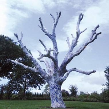 Kuru ağaçlar çintemaniyle süslenecek!
